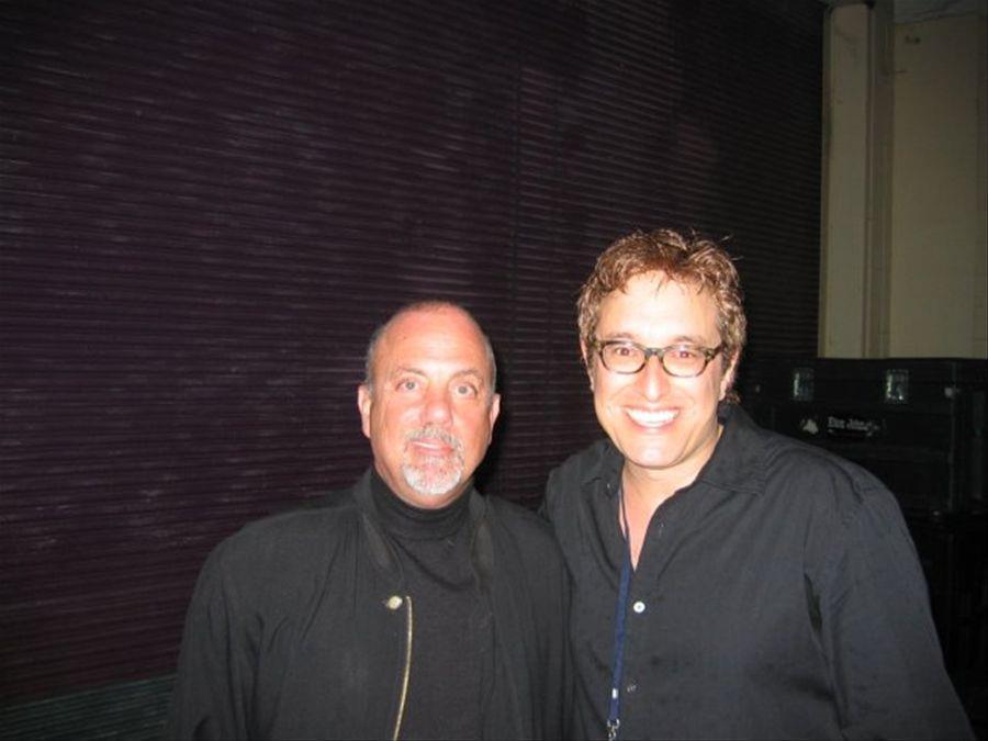 Billy Joel backstage